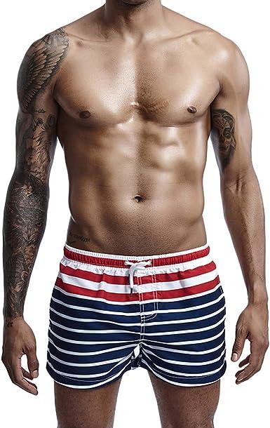 pantalón Corto Hombre bañador de natación Correr Surf Deportes ...