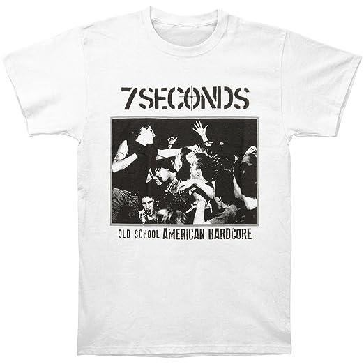 b4f8a7d99 Amazon.com: 7 Seconds Men's Old School American Hardcore T-shirt XX ...