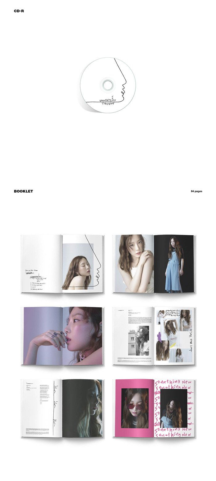 SNSD TAEYEON [SOMETHING NEW] 3rd Mini Album Random Ver CD+Poster+Photobook+PhotoCard+Tracking Number SEALED by SNSD TAEYEON [SOMETHING NEW] 3rd Mini Album Random Ver+Poster