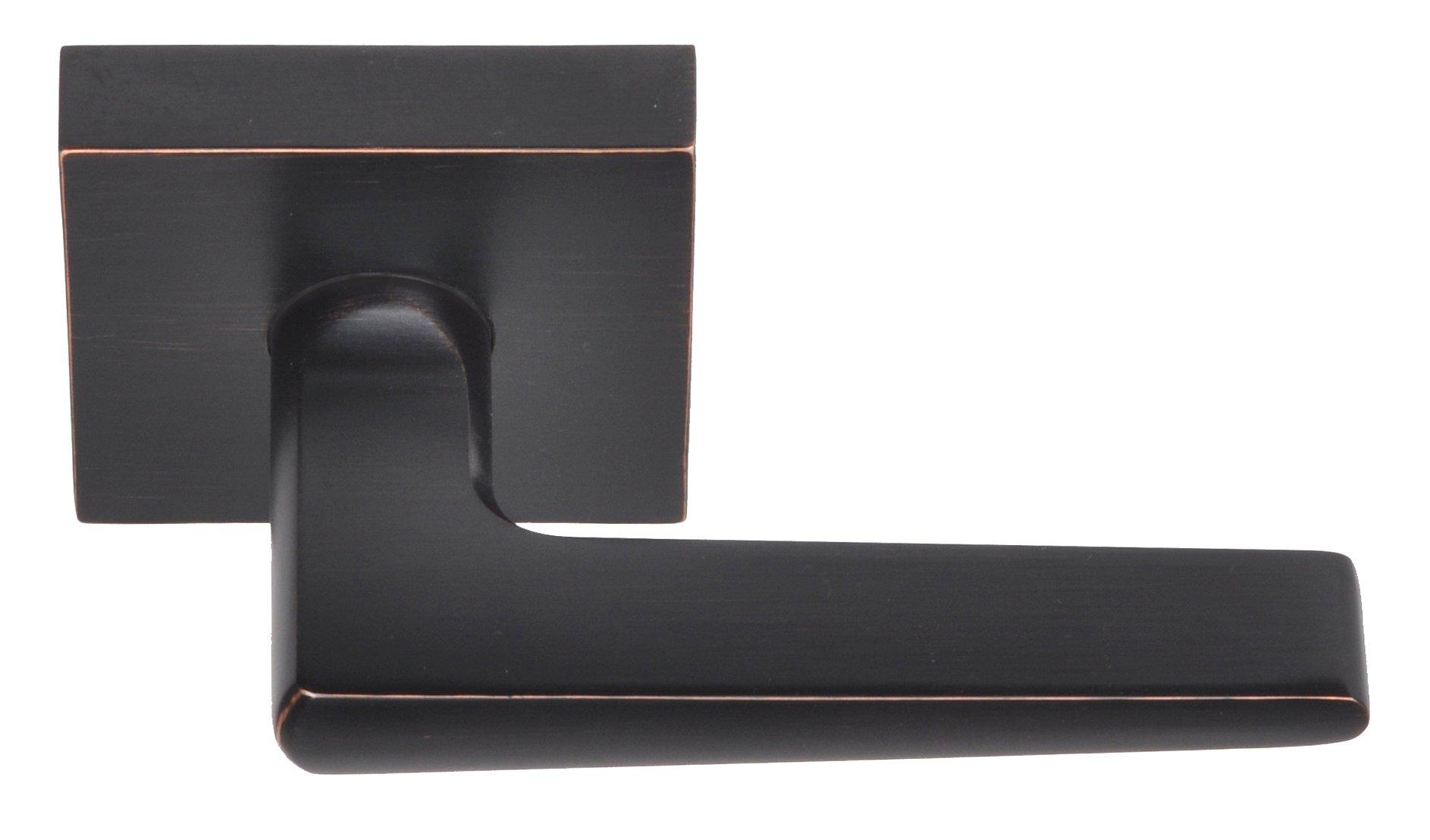 Better Home Products Tiburon Reversible Passage Lever, Dark Bronze