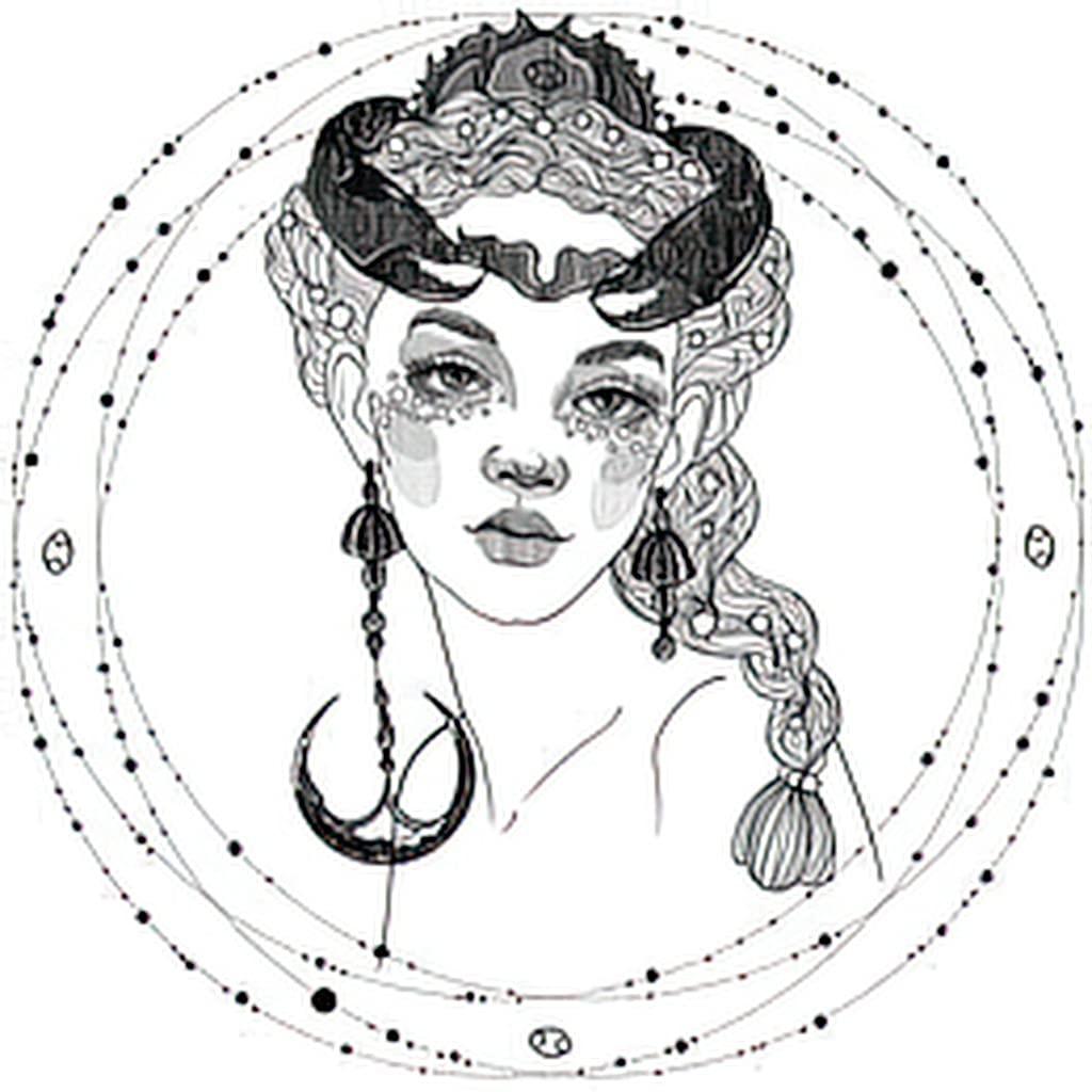 Cancer Zodiac Sign Tattoos