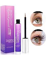 Eyelash Growth Serum, SIGHTLING Eyebrow Growth Serum, FDA Approved Natural Brow & Lash Enhancing Formula for Longer, Thicker Eyelashes and Fuller Eyebrows - 5ML