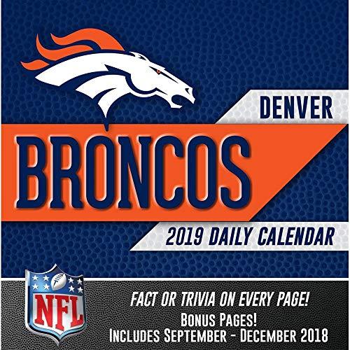 Turner Licensing Denver Broncos 2019 Box Calendar (19998051437)