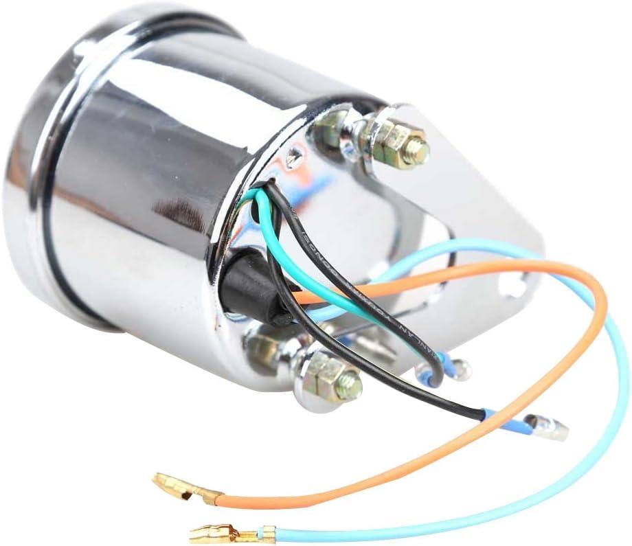 Motorrad Tachometer Sodial R Universal Motorrad Roller 13000 Rpm Analog Tachometer Lehre Nachtlicht Auto
