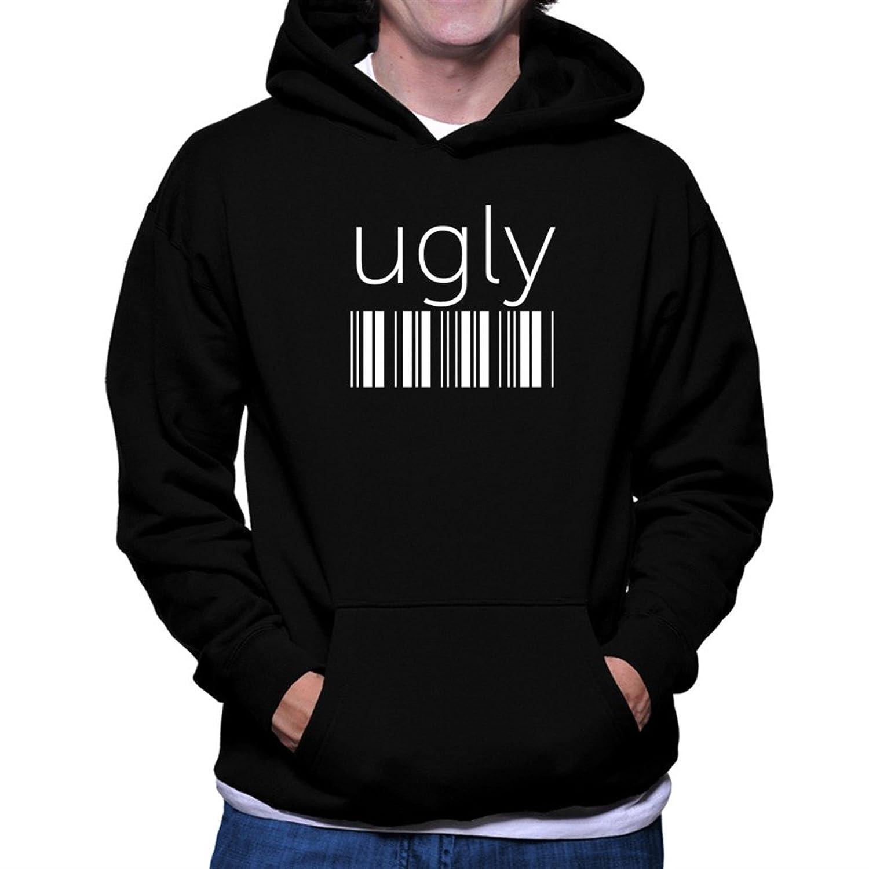 ugly barcode Hoodie