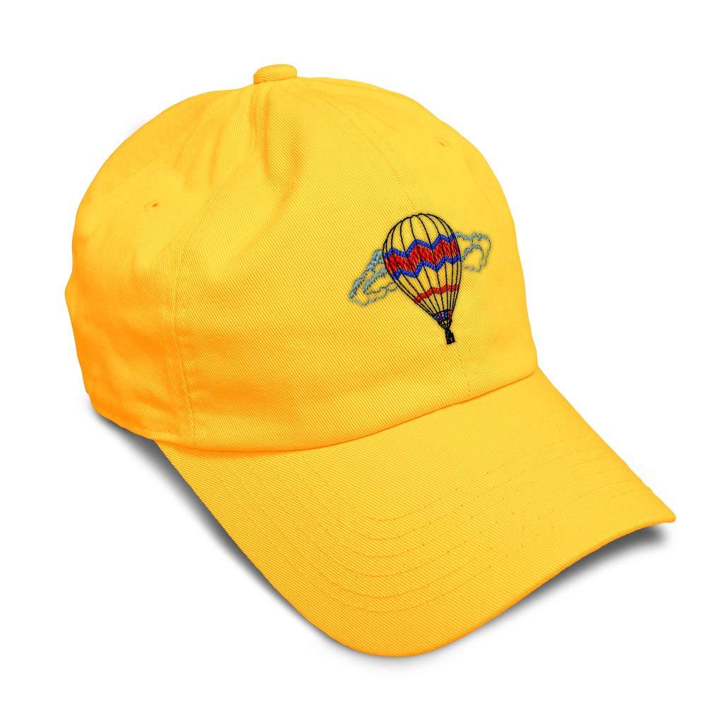 Custom Soft Baseball Cap Balloon Scene Embroidery Dad Hats for Men /& Women