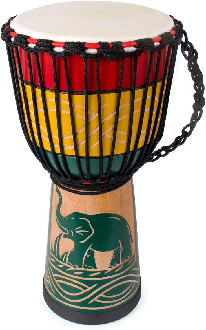 lotmusic Djembe African Drum Bongo Congo
