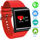 Smart Watch Fitness Tracker,LIGE Waterproof Heart Rate Monitor Colour Screen Fitness Watch Activity Tracker Pedometer with Sleep Monitor Step Calorie Counter Weather Smart Bracelet for Kids,Men Women