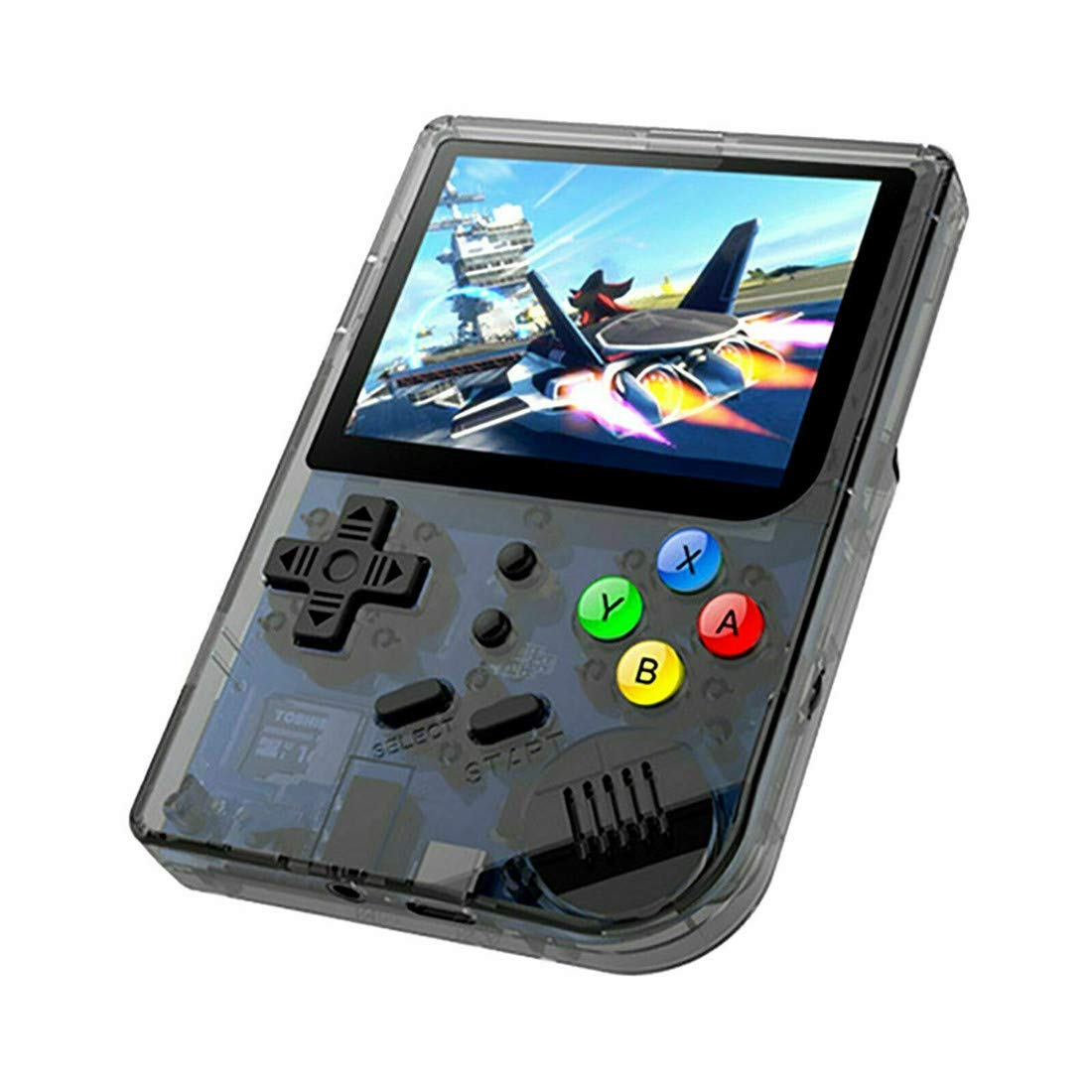 3 INCH Video Games Portable Retro FC Console New BittBoy Retro Game Handheld Games Console Player RG 300 16G 3000 Games Best Gift (Black) by Neutral (Image #2)