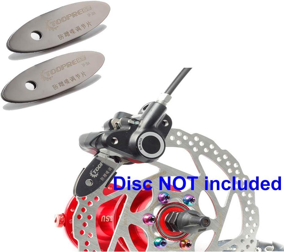 Bicycle Mounting Assistant Brake Pad Rotor Alignment Tool Spacer Bike Repair Kit