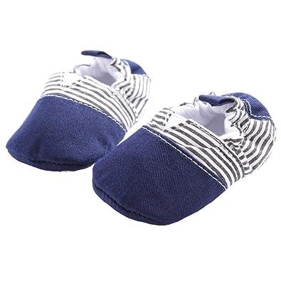 Amazon Com Linkey Baby Cotton Slip On Loafers Wrap Around Soft