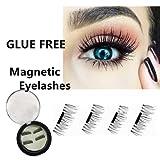 Runhome Reusable Magnetic 3D Fake Eyelashes,