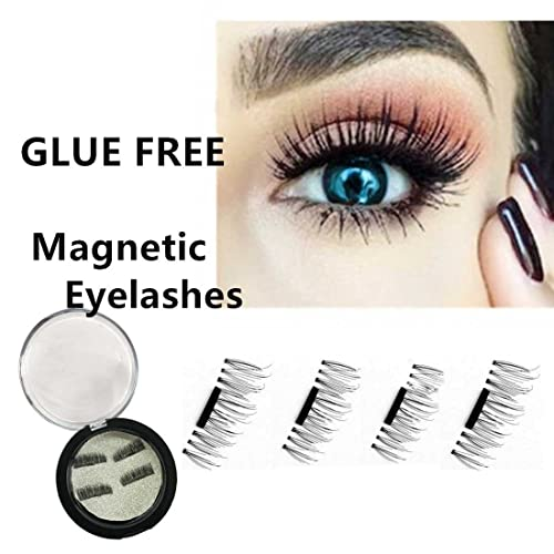 Runhome Reusable Magnetic 3D Fake Eyelashes,