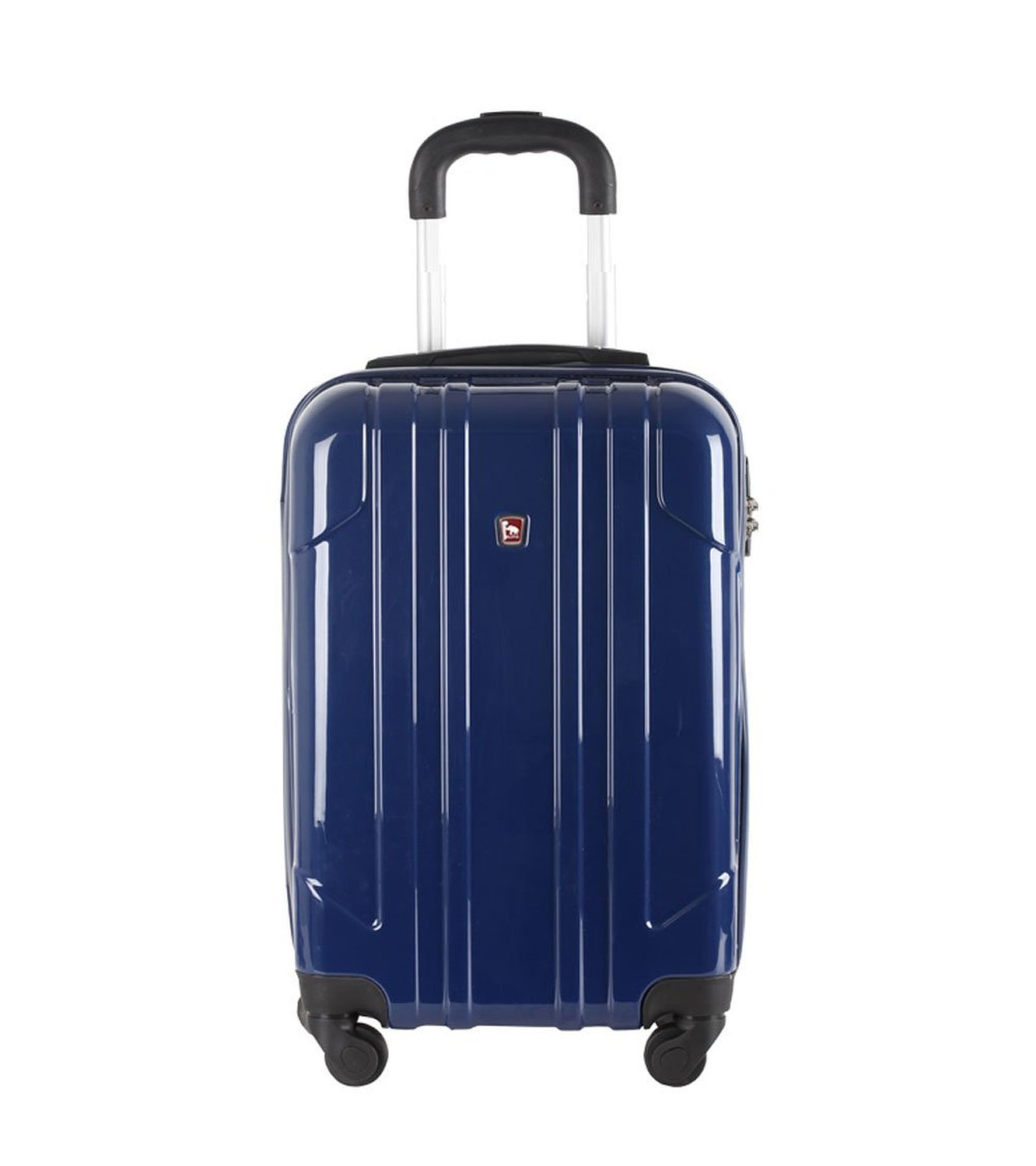 24-inch Luggage /& Travel Gear XF Luggage Sets Luggage Female Password Box Trolley Case Universal Wheel Suitcase Male Boarding Box 20-inch Color : A, Size : 20-inch