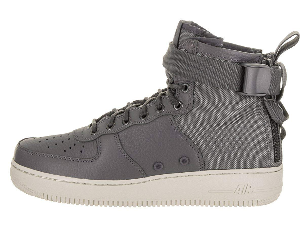 release date: 322e0 21c07 Nike SF Air Force 1 Mid Mens Shoes Dark Grey Dark Grey Light Bone  917753-004 (10.5 D(M) US)