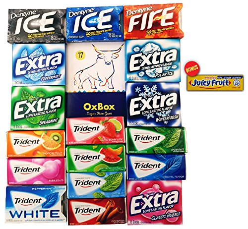 oxbox-gum-care-package-trident-trident-white-dentyne-extra-and-juicy-fruit-for-office-meetings-schoo