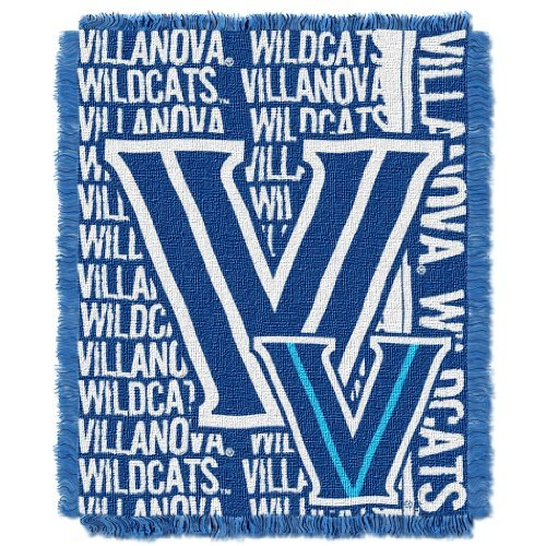 Northwest College 019 NCAA Villanova Wildcats 46 x 60-Inch Double Play Jacquard Triple Woven Throw