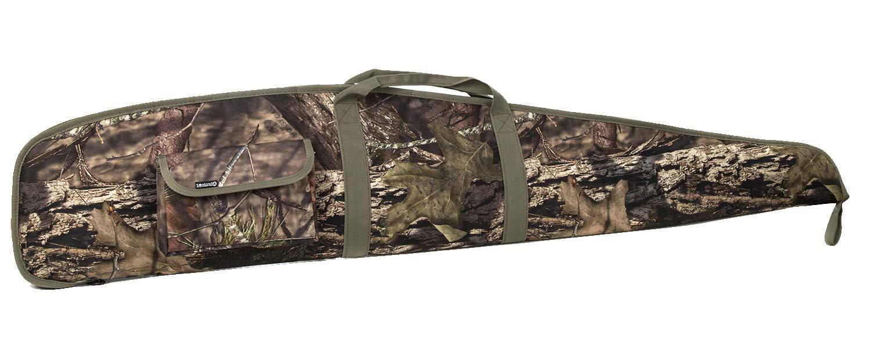 SUNLAND 44/48/52 Inch Rifle Case with Adjustable Shoulder Shotgun Case for Scoped Rifles (Realtree, 44)