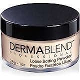 Dermablend Loose Setting Powder, Cool Beige Face Powder & Finishing Powder Makeup for Light, Medium and Tan Skin Tones, Matti