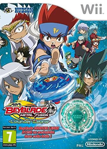 Third Party - Beyblade metal fusion : counter Leone Occasion [ Nintendo WII ] - 4012927093771 (Game Beyblade Wii Video)