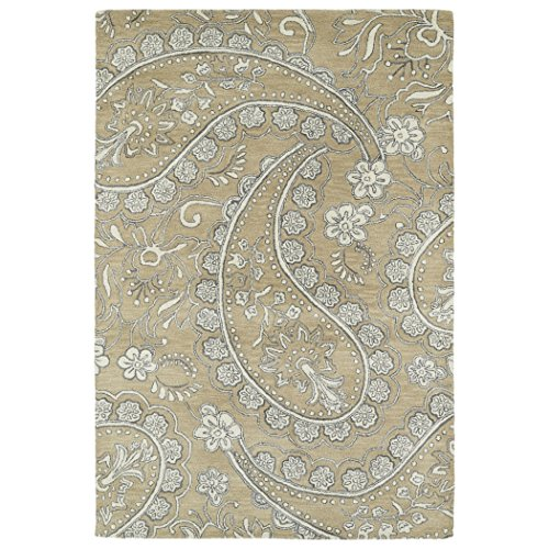 Hand Tufted Camel (Kaleen Rugs Melange Collection MLG01-43 Camel Hand Tufted 3' x 5' Rug)