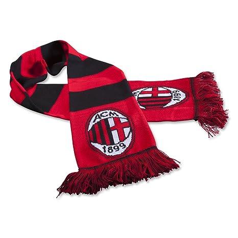Amazon.com   A.c. Milan Bar Scarf   Soccer Equipment   Sports   Outdoors 0e1e8c29f55df