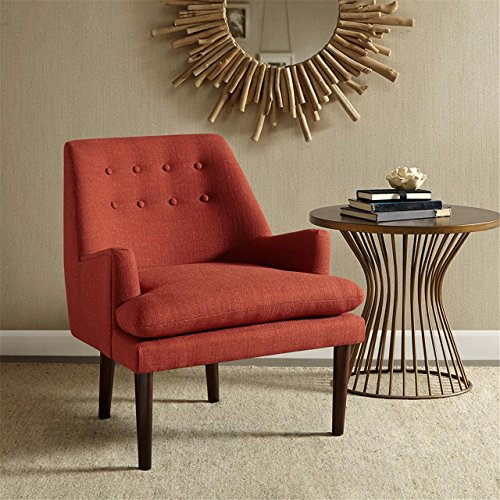 Madison Park Taylor MidCentury Accent Chair Spice See below