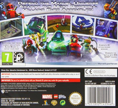 LEGO Marvel Super Heroes: Universe in Peril (Nintendo DS): Amazon.co ...