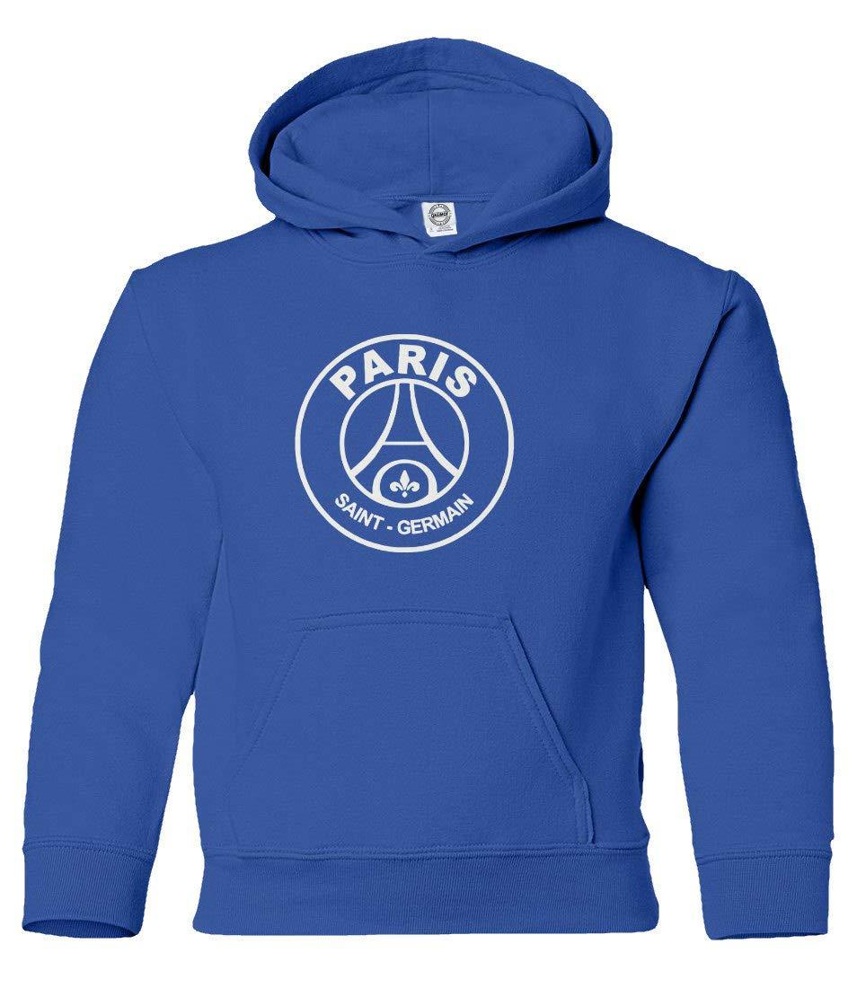 Boys Girls Youth Hooded Sweatshirt Spark Apparel New Paris Soccer Shirt #10 Neymar Jr