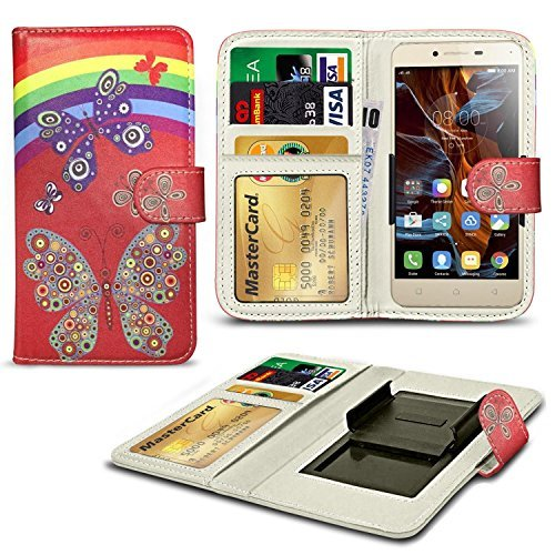 n4u-online-rainbow-patterned-clip-on-series-pu-leather-wallet-book-case-for-aldi-medion-life-e5005-5