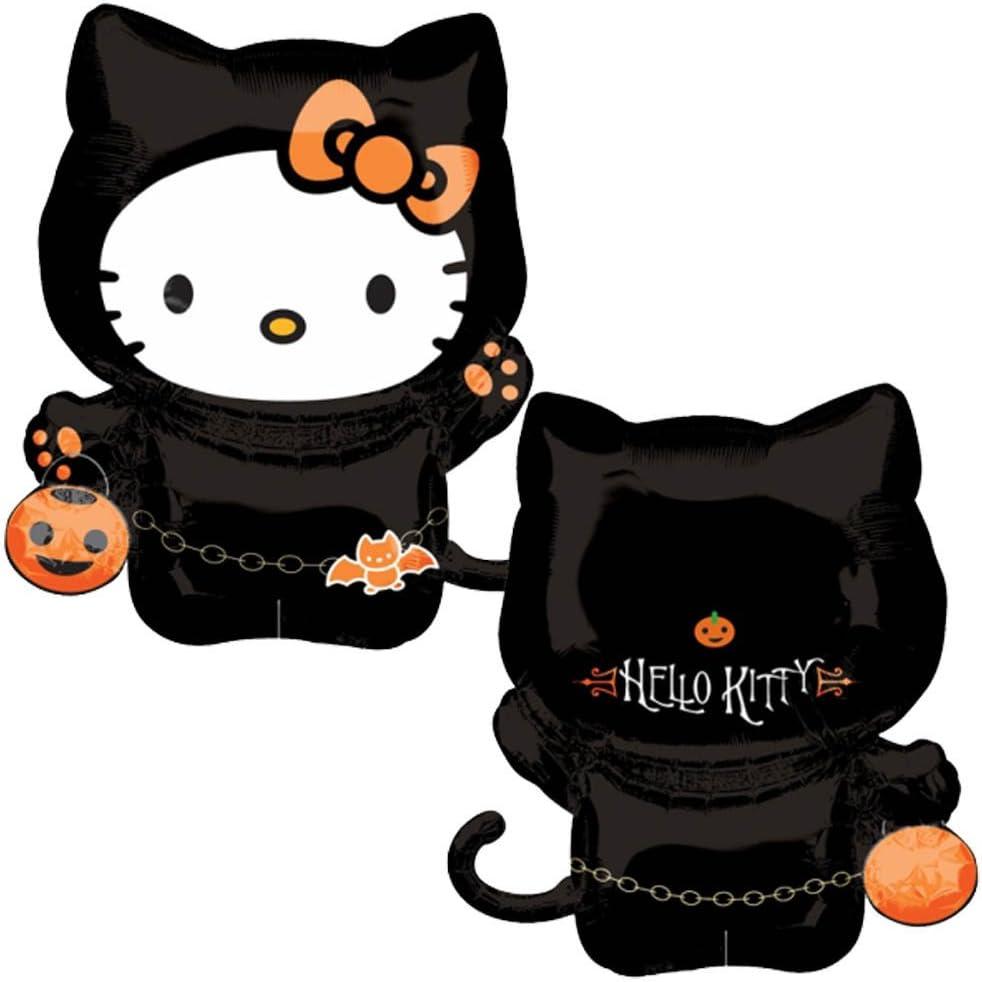 Amazon Com Anagram International 30 Inch Halloween Hello Kitty Mylar Balloon Toys Games
