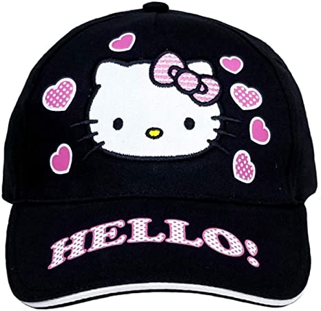 Hello Kitty Pink Baseball Cap Hat