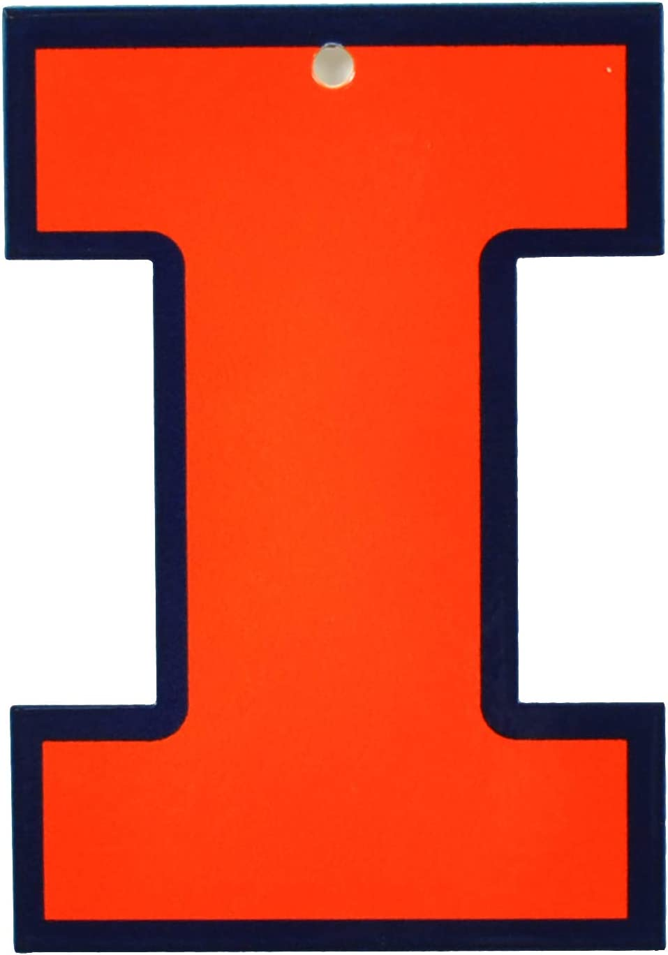 R and R Imports Illinois Fighting Illini 4 Inch Round Magnet