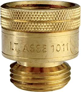 Kingston Brass GHVCBK Hose Bibb Vacuum Breaker, Brass