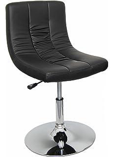 1x Barhocker Design Lounge Sessel Barsessel Clubsessel Drehsessel Schwarz