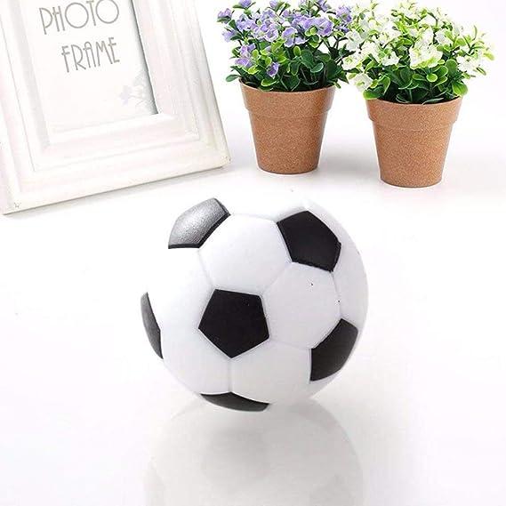 Naisicatar Reemplazo 6Pcs Mini balones de plástico Bola de Mesa ...
