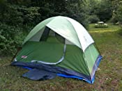 Customer image & Amazon.com : Coleman 2000007827 Sundome 4-Person Tent Green ...