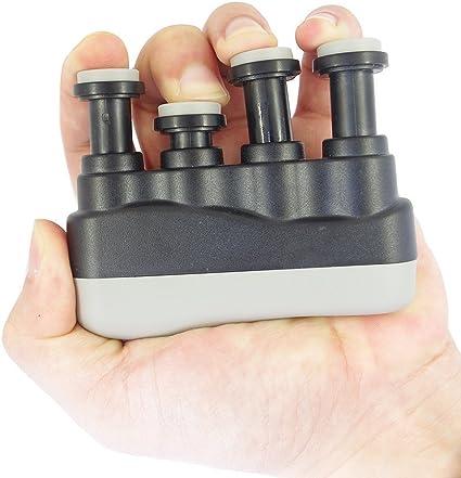 Hand Finger Exerciser Grip Strengthener For Guitar//Bass Trainer UK 1st Class