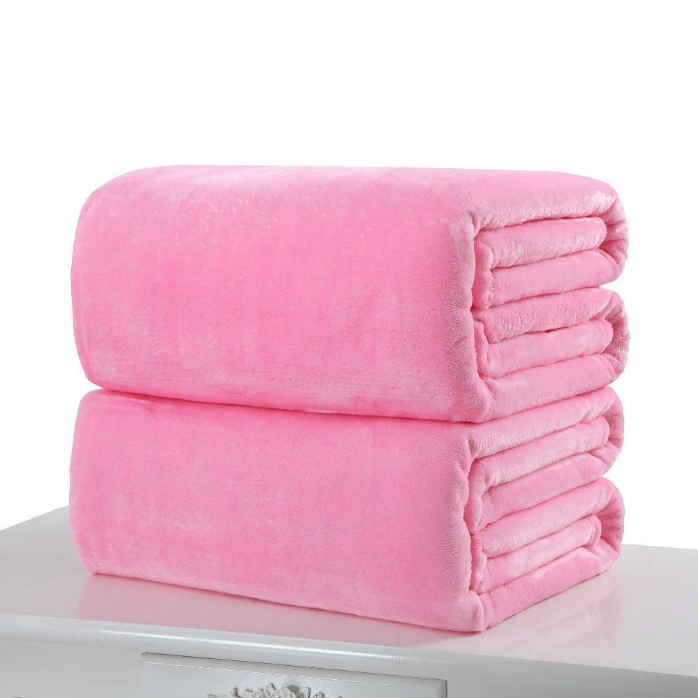 D 70100cmDixinla Pet Bed Pet Blanket Flannel Coral Velvet Sheet Little Blanket