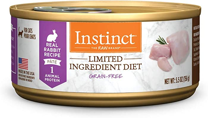 The Best Natures Variety Limited Ingredient Rabbit Cat Food