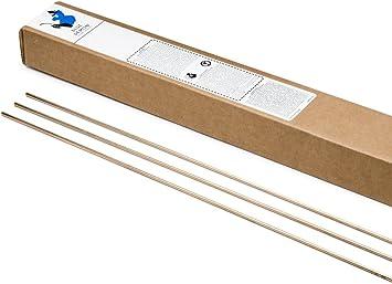 ERCuSi-A Silicon Bronze TIG Welding Rod 2 Lb 36 x 3//32-