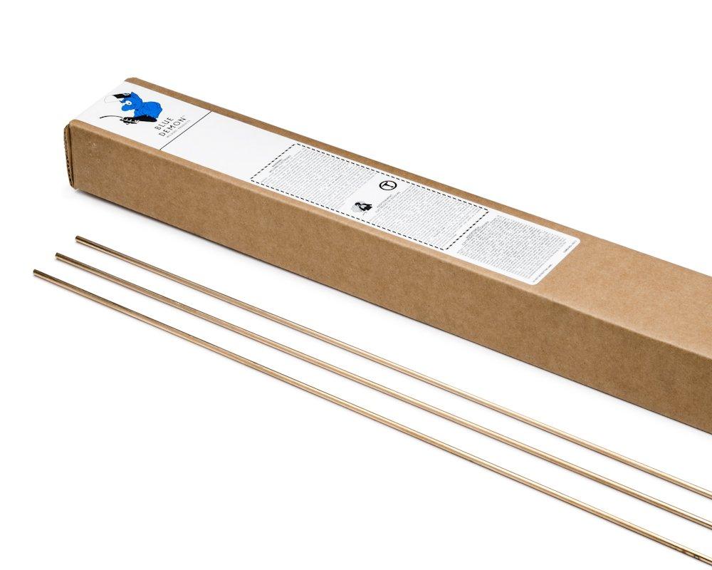 Blue Demon ERCuAl-A2 X 1//8 X 36 X 10LB Box TIG Rod