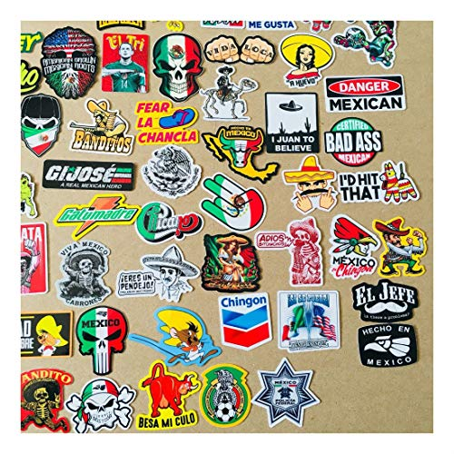 Super Mexican Hard Hat Stickers 82+ Mexico Hardhat Sticker & Decals, Helmet MX by Unknown (Image #3)