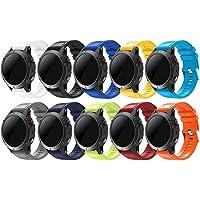 TOPsic Kompatibla Garmin Fenix 5 remmar, Quick Fit 22 mm mjukt silikon sport reservarmband för Garmin Fenix 5/Fenix 5…