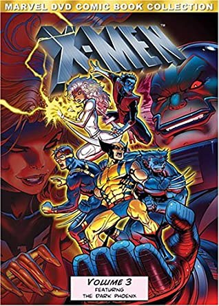 Image result for x-men dark phoenix saga animated dvd