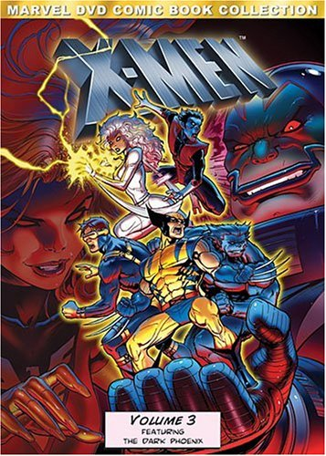 X-Men: Volume Three (Marvel DVD Comic Book Collection) (Best Novels Of The 1990s)