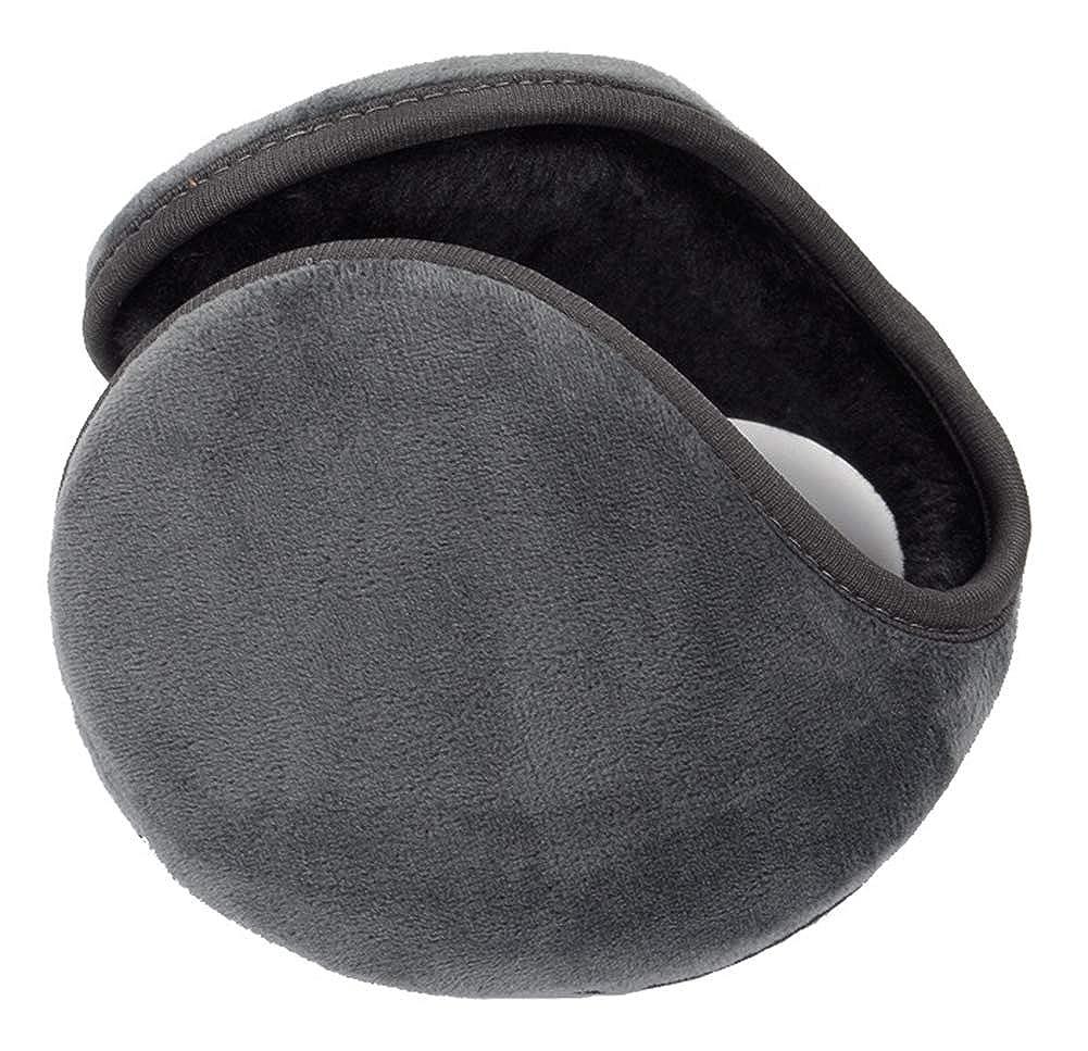 YeeSpring Classic Fleece Warm Earmuffs Unisex Winter Ear Warmers YSL-EW5003-Grey