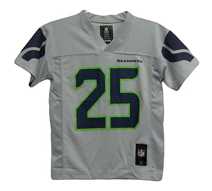 d18bc4ae476b9 Richard Sherman Seattle Seahawks Gray Alternate NFL Youth 2014-15 Season  Mid-tier Jersey (X-Large 18/20)