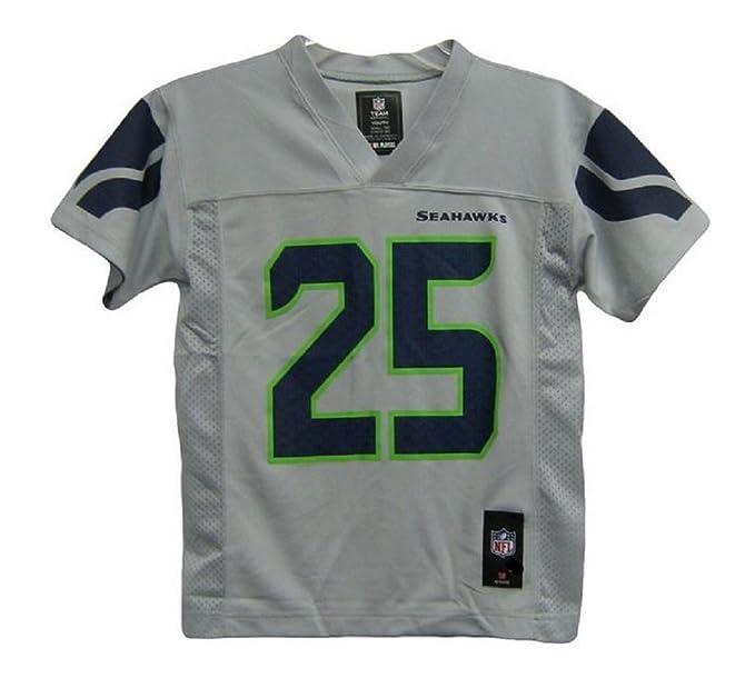 buy popular 570f0 28471 Richard Sherman Seattle Seahawks Gray Alternate NFL Youth 2014-15 Season  Mid-tier Jersey (X-Large 18/20)