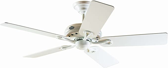 Hunter Savoy 24526 - Ventilador de techo, 5 palas, color blanco ...